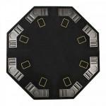 Table plateau poker pliable 8 personnes