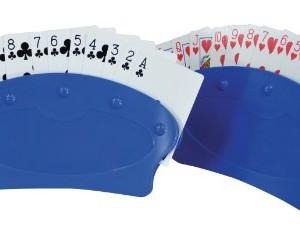 Paire de jouer les titulaires de carte pour les pauvres faible adhérence ou arthrite