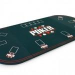 Plateau de poker 8/10 joueurs (vert)