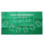 Texas Hold'em Poker Table Cover Cloth (Green)